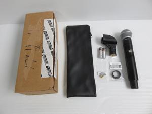 SHURE ハンドヘルド型送信機 ワイヤレスマイク 買取