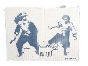 バンクシー Banksy 買取